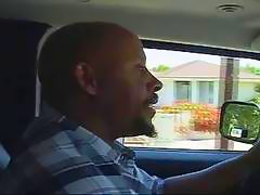 Booker t look alike takes a ebony babe out on a anal ride
